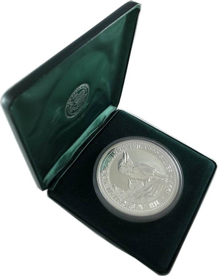 1kg純銀銀貨の販売